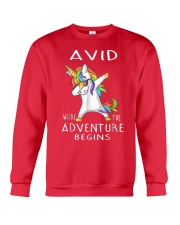 Avid Where The Adventure Begins Shirt Crewneck Sweatshirt thumbnail