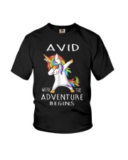Avid Where The Adventure Begins Shirt Youth T-Shirt thumbnail