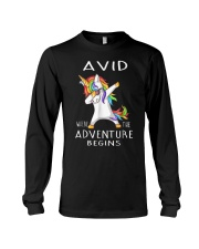 Avid Where The Adventure Begins Shirt Long Sleeve Tee thumbnail