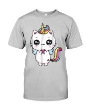 Caticorn Meowgical Rainbow T Shirt Cat Kittycorn U Classic T-Shirt front