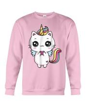 Caticorn Meowgical Rainbow T Shirt Cat Kittycorn U Crewneck Sweatshirt thumbnail