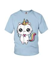 Caticorn Meowgical Rainbow T Shirt Cat Kittycorn U Youth T-Shirt thumbnail