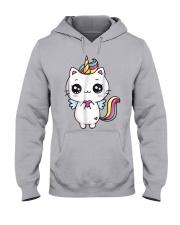 Caticorn Meowgical Rainbow T Shirt Cat Kittycorn U Hooded Sweatshirt thumbnail