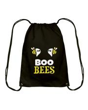 Boo-Bees-T-shirt Drawstring Bag thumbnail