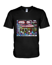 Schwarzs Deli Montreal V-Neck T-Shirt thumbnail