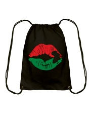 BLACK LIP Drawstring Bag thumbnail