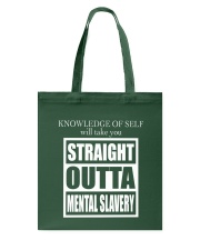 MENTAL SLAVERY Tote Bag tile