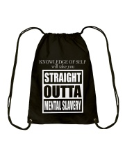 MENTAL SLAVERY Drawstring Bag tile