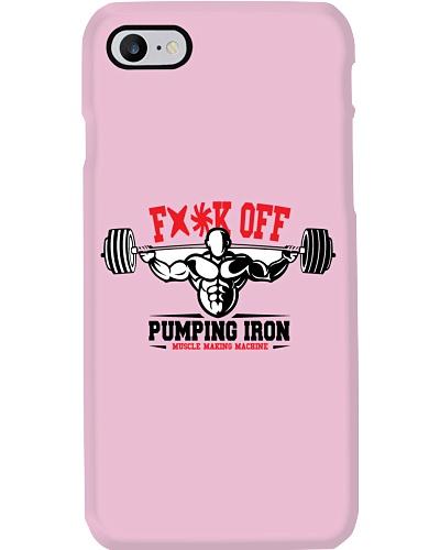 Gym t-shirt Pumping Iron