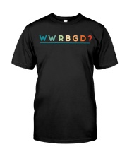 WWRBGD Classic T-Shirt front