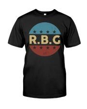 Vintage Notorious RBG Classic T-Shirt front