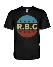 Vintage Notorious RBG V-Neck T-Shirt thumbnail