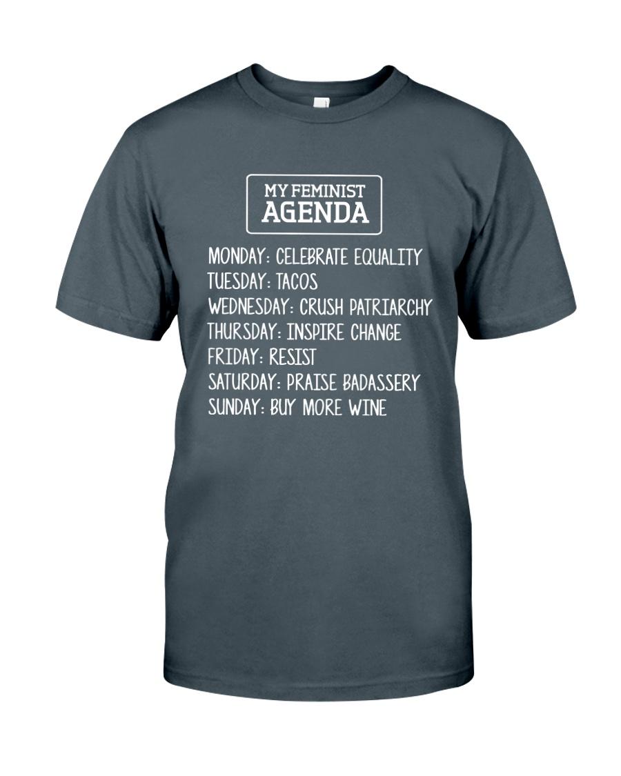 My Feminist Agenda Classic T-Shirt