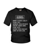 My Feminist Agenda Youth T-Shirt thumbnail