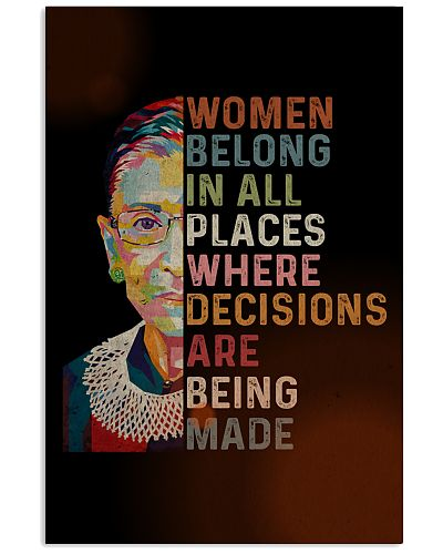 RBG Women Belong In All Places
