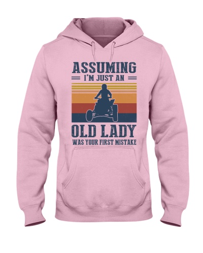 Assuming I'm Just An Old Lady - Quad Motocross