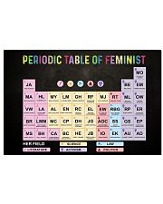 Periodic Table Of Feminist 17x11 Poster front