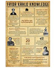 Frida Kahlo Knowledge 11x17 Poster front