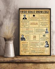 Frida Kahlo Knowledge 11x17 Poster lifestyle-poster-3