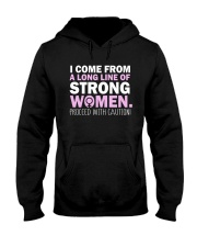 I Come From A Long Line Of Strong Women Hooded Sweatshirt thumbnail