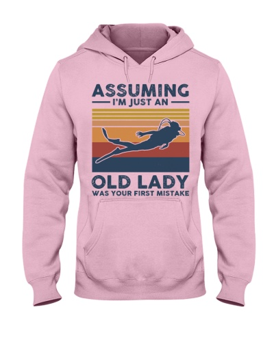 Assuming I'm Just An Old Lady - Scuba Diving