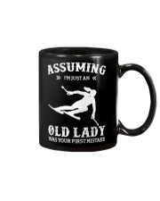 Assuming I'm Just An Old Lady - Skiing Mug thumbnail