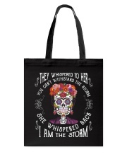 Frida Kahlo - I Am The Storm Tote Bag thumbnail