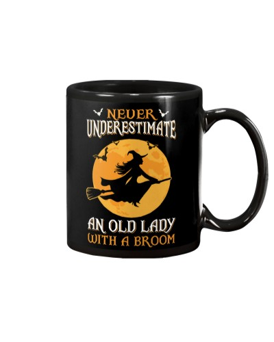 Never Underestimate An Old Lady With A Broom