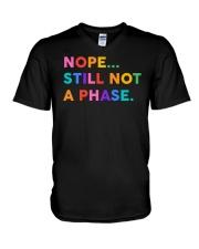 Nope Still Not A Phase V-Neck T-Shirt thumbnail