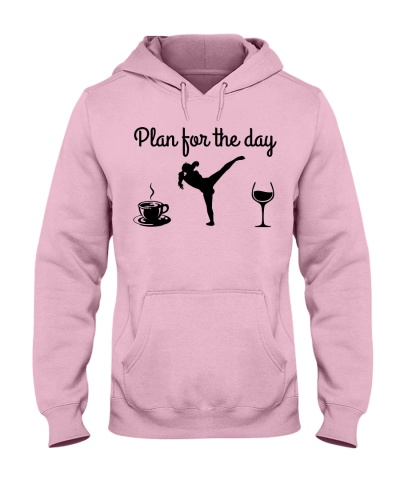 Plan For The Day - Kickboxing