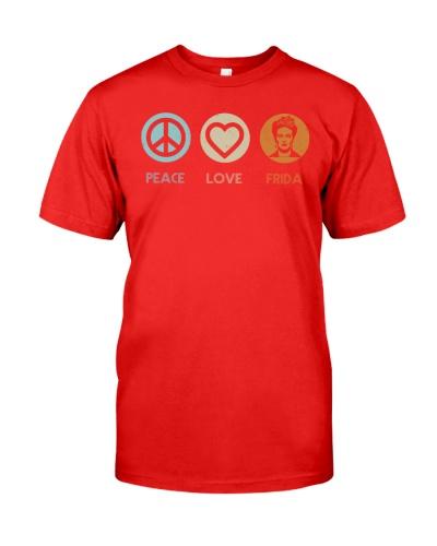 Peace Love Frida Kahlo