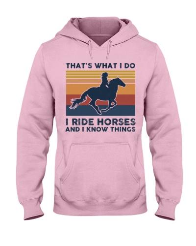 I Ride Horses And I Know Things - Retro
