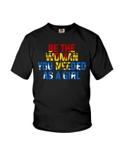 WW - Be The Woman You Needed As A Girl Youth T-Shirt thumbnail