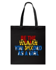 WW - Be The Woman You Needed As A Girl Tote Bag thumbnail