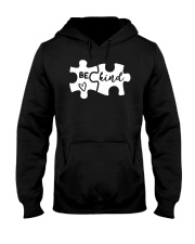 Be Kind Autism Awareness Puzzle Hooded Sweatshirt thumbnail