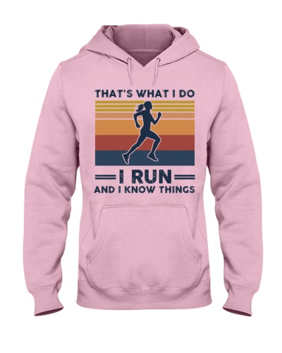 I Run And I Know Things - Retro