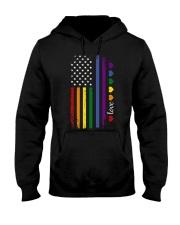 Pride US Flag Hooded Sweatshirt thumbnail