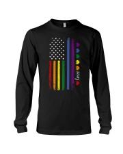 Pride US Flag Long Sleeve Tee thumbnail