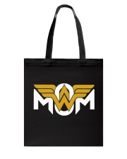 Wonder Woman Mom Tote Bag thumbnail
