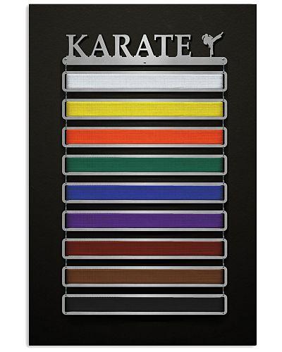 Karate - Female Figure Poster