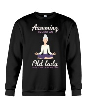 Assuming I'm An Old Lady Was Your First Mistake Crewneck Sweatshirt thumbnail