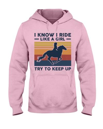 I Know I Ride Like A Girl - Horses