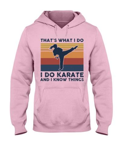 I Do Karate And I Know Things - Retro