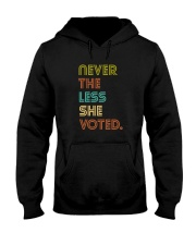 Never The Less She Voted Hooded Sweatshirt thumbnail