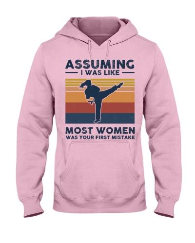 Assuming I Was Like Most Women - Karate Retro
