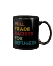 Will Trade Racists For Refugees Mug thumbnail