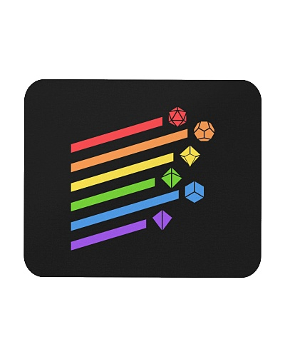 DnD rainbow dice
