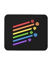 DnD rainbow dice Mousepad thumbnail