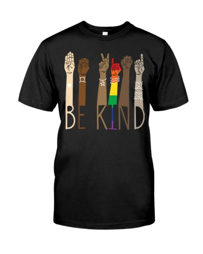 Be Kind Sign Language Equality