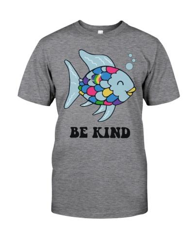 Be Kind Rainbow Scale Fish